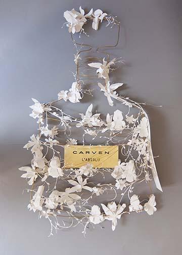 Carven-Marjorie Colas- creation papier – decoration