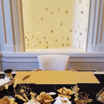 prestation live de bijoux en papier pour la maison Chanel joaillerie