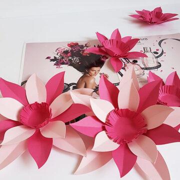 fleurs en papier viktor and rolf