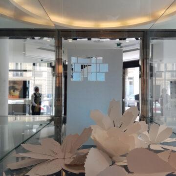 photophores en papier pour l'hôtel sofitel