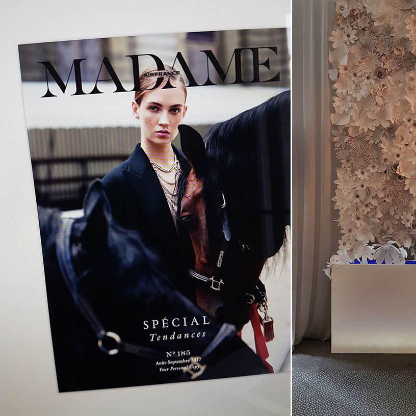 article air France madame marjorie colas