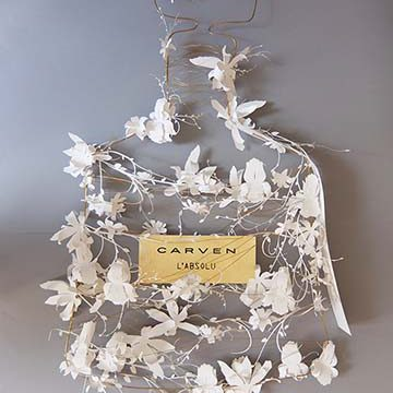 Carven-Marjorie Colas- creation papier – decoration