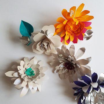 fleurs en papier pour la maison stephane chapelle
