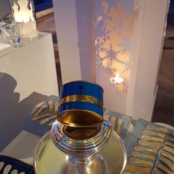 décoration en papier pour la soirée ELLE